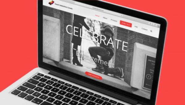 Sweet Celebrations Website